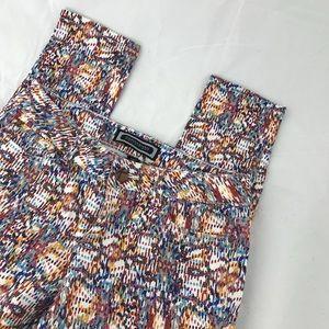 Kardashian Kollection Colorful Splatter Jeans